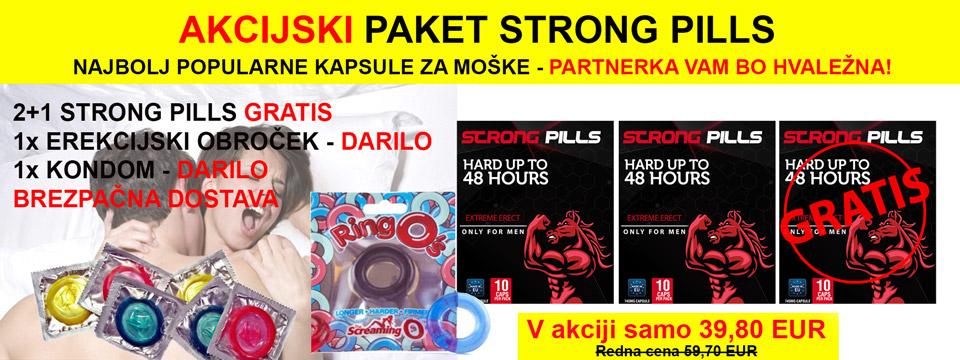 Strong Pills sex tablete