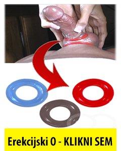 Erekcijski obroček za trdo erekcijo