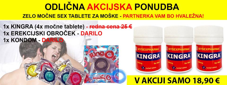 Kingra sex tablete